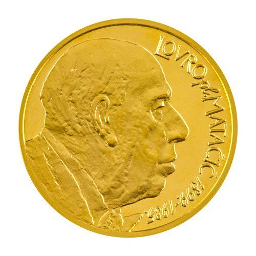 """Zlatna medalja """"Lovro pl.Matačić"""""""