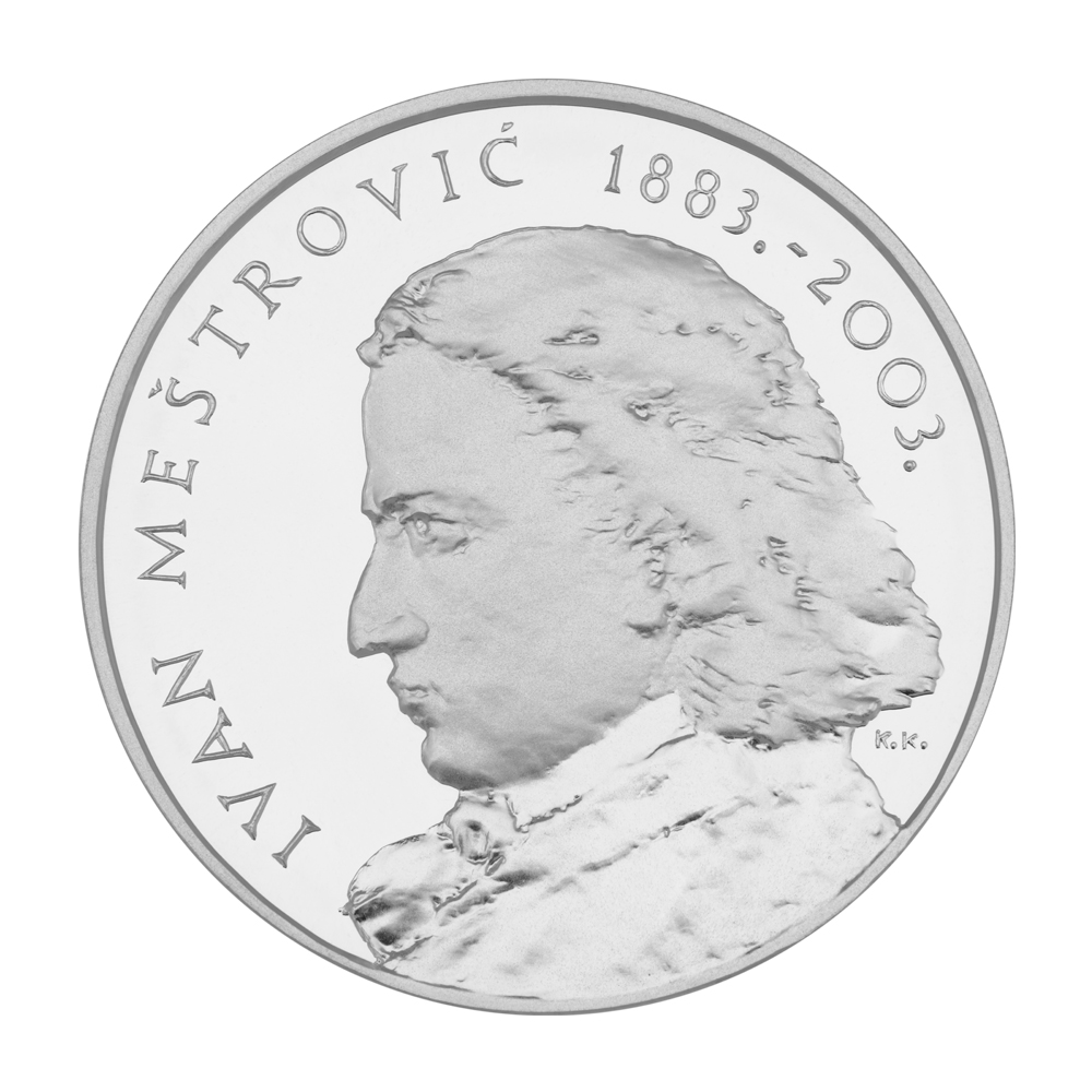 silver medal Ivan Meštrović