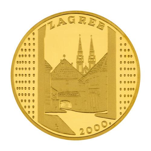 zlatna medalja Kamenita vrata