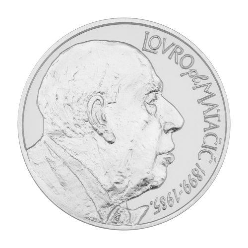 srebrna medalja Lovro pl. Matačić