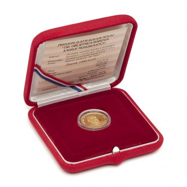 Gold coin Mohorovičić