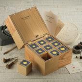 Gold numismatic set
